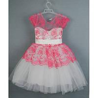 Платье нарядное розовое 3-5 лет года Dina-18