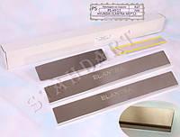 Накладки на пороги Hyundai Elantra MD 2012- Standart NataNiko