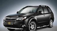 Защита переднего бампера Cobra Subaru Forester 2008+