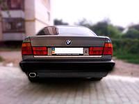 Нижняя кромка багажника BMW 5 (E-34) 1988-1995 нерж. Carmos