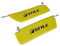 Солнцезащитные козырьки ВАЗ 2101 желтые