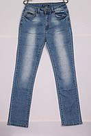 Женские джинсы голубые, большие размеры