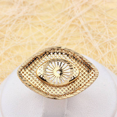 002-1935 - Позолоченный перстень,  17 р.