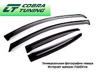 Дефлекторы окон, ветровики УАЗ Патриот широкие Cobra