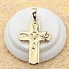 R4-0516 - Позолоченный кулон-крест