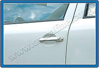 Накладки на ручки Skoda Octavia II (A5) HB 5D, SW (2004-2013) 4-дверн. нерж. Omsa