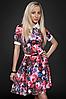 Платье  мод 429-2 размер 44,46,48 малина