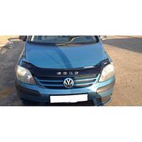 Дефлектор капота, мухобойка Volkswagen Golf Plus с 2005 г.в. VIP