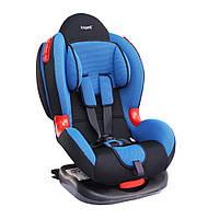Детское авто кресло SIGER КОКОН Изофикс группа 1-2 (синий)
