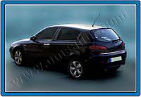 Нижняя кромка багажника ALFA ROMEO 147 5D,3D (2000-2010) (нерж.)