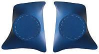 Уголки передние с подиумами на 16 ВАЗ 2101 - 2107 синие