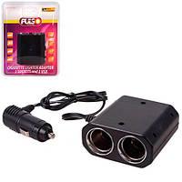 Разветвитель прикуривателя Pulso SC-3031 (3 гнезда + 2 USB 1000mA)