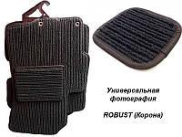Коврики текстильные Ваз 2110, 2111, 2112 Robust темно-серые