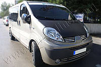 Накладки на зеркала Renault Traffic,Opel Vivaro FL (2010-) (Abs-хром.) 2 ш- Omsa