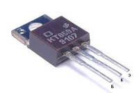 КТ859А транзистор NPN (4А 800В) 40W (ТО220)