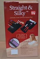Утюжек для волос (набор инструментов для укладки волос) Straight&Silky, фото 1