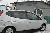 Дефлекторы окон, ветровики Chevrolet Rezzo 2005-, Daewoo Tacuma 2000- Cobra