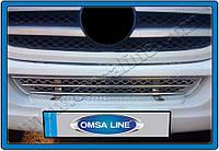 Защита переднего бампера Mercedes Sprinter W906 (2006-2013) нерж. Omsa