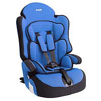 Детское авто кресло SIGER ПРАЙМ Изофикс группа 1-2-3 (синий)
