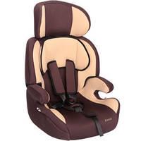 Детское авто кресло ZLATEK Fregat коричневый, 1-12 лет, 9-36 кг, группа 1-2-3