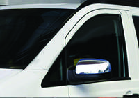 Накладки на зеркала Mercedes Vito W447 (W640) (2014-) (Abs-хром.) 2 шт- Omsa