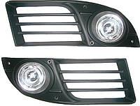 Фары противотуманные Fiat Doblo 2006-2010 (комплект - 2шт) G-plast