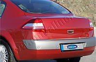 Нижняя кромка багажника Renault Megane SD (2004-2010) (нерж.)