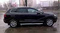 Дефлекторы окон, ветровики Volkswagen Touareg 2010- SIM