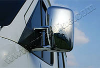 Накладки на зеркала Volkswagen Volt LT (1998-2006) (Abs-хром.) 2 шт- Omsa