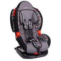 Детское авто кресло SIGER ART Кокон ISOFIX алфавит, 1-7 лет, 9-25 кг, группа 1-2