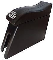 Подлокотник ВАЗ 2101 - 2106 Люкс с вышивкой черный