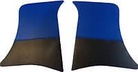 Накладки уголки передние ВАЗ 2101 - 2107 синие