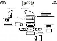 Декоративные накладки на панель BMW 3 Series E-36 (1990-2000) Meric