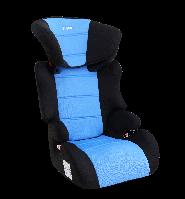 Детское авто кресло SIGER Смарт голубой, 3-12 лет, 15-36 кг, группа 2-3