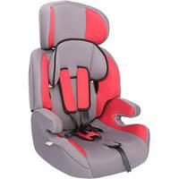 Детское авто кресло ZLATEK Fregat красный, 1-12 лет, 9-36 кг, группа 1-2-3