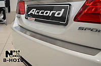 Накладка на бампер Honda Accord Ix 2013- NataNiko Premium