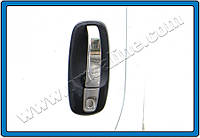 Накладки на ручки Opel Vivaro II-FL (2010-2014) 4-дверн. нерж. Omsa