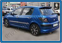 Накладки на ручки Peugeot 307 HB 3D (2001-2008) 2-дверн. нерж. Omsa