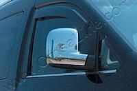Накладки на зеркала Volkswagen T5 Caravelle (2003-2010) (Abs хром.) 2 шт. (UK. Vers.)- Omsa