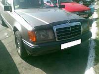 Дефлектор капота, мухобойка Mercedes-Benz E-CLASS (КУЗОВ W124) С 1985-1992 Г.В VIP