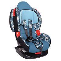 Детское авто кресло SIGER ART Кокон ISOFIX геометрия, 1-7 лет, 9-25 кг, группа 1-2