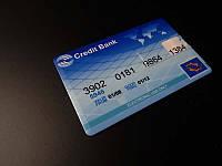 USB Flash 16 GB в виде кредитной карты Credit Bank