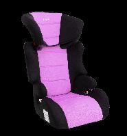 Детское авто кресло SIGER Смарт фиолетовый, 3-12 лет, 15-36 кг, группа 2-3