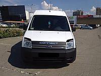 Реснички на фары Ford Connect 1 (2001-2013) стеклопластик (Orticar)