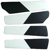 Вставки в двери ВАЗ 2109 - 21099 белые