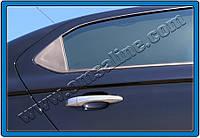 Накладки на дверные ручки Citroen C-Elysee (2012+) 4 шт, нерж. Omsa