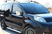Накладки на зеркала Peugeot Bipper (2008-) (Abs-хром.) 2 шт- Omsa