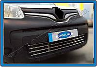 Защита переднего бампера Renault Kangoo (2008-) нерж. Omsa