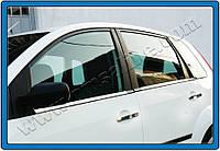 Накладки на ручки Ford Fiesta HB 5D ( 2009- ) (нерж.) 4-дверн. (с отверст.под сенсор) Omsa