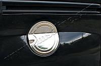 Накладка на лючок бензобака Peugeot Bipper (2008-) (нерж.) Omsa